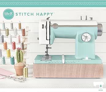 American Crafts 663128, Máquina de Coser con Us Adapter, Menta ...