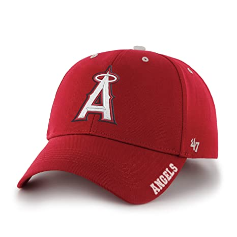 new products 328c5 9edc0 Image Unavailable. Image not available for. Color  MLB Los Angeles Angels  47 Brand Adjustable Frost MVP Hat ...
