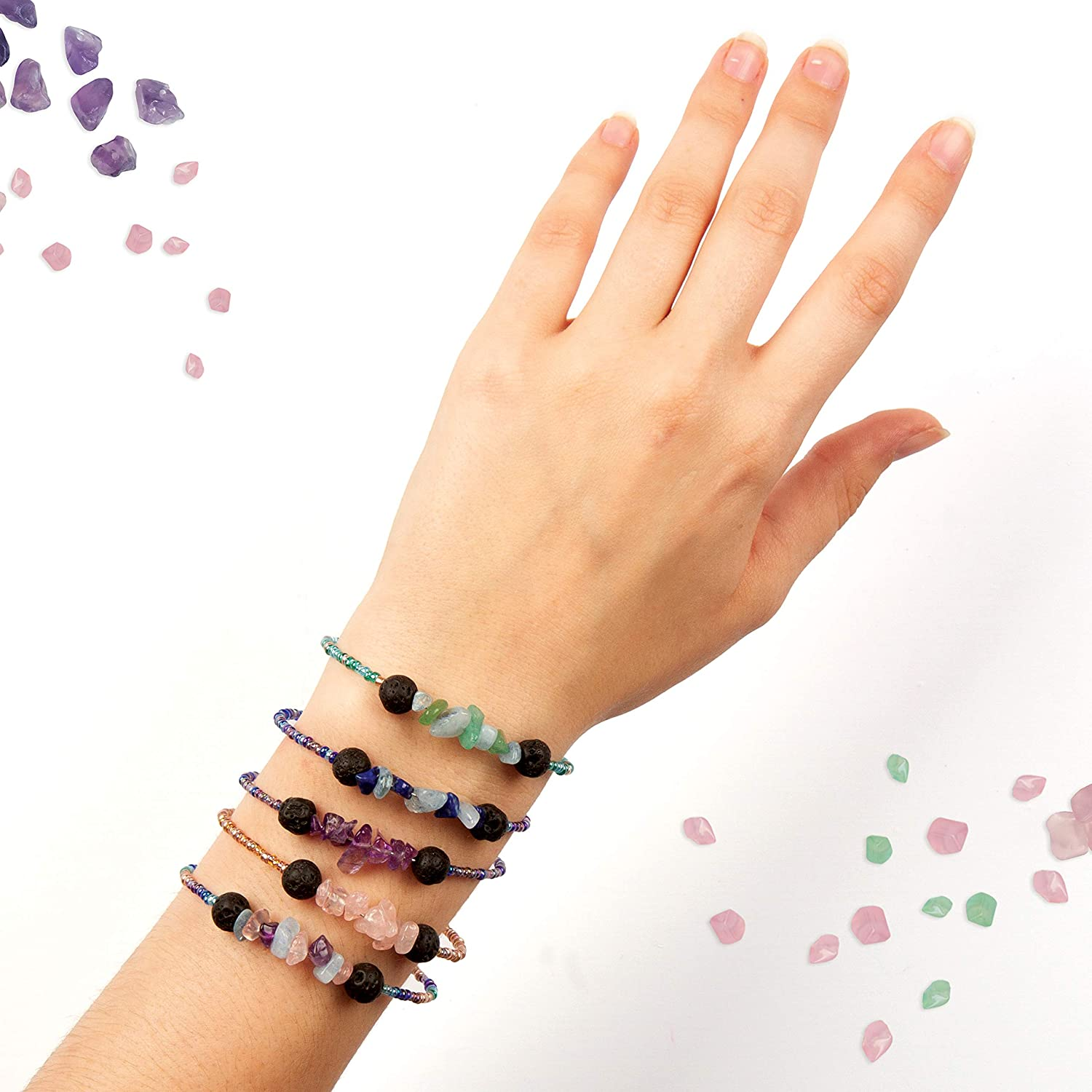 Multicolor Fashion Angels Crystal Aroma Infused Bracelet Kit