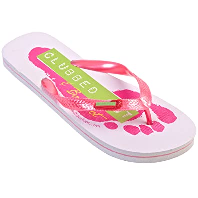 bf9bf0303 Zohula Clubbed Out and Barefoot Flip Flops - Medium Size 5-6  Amazon ...