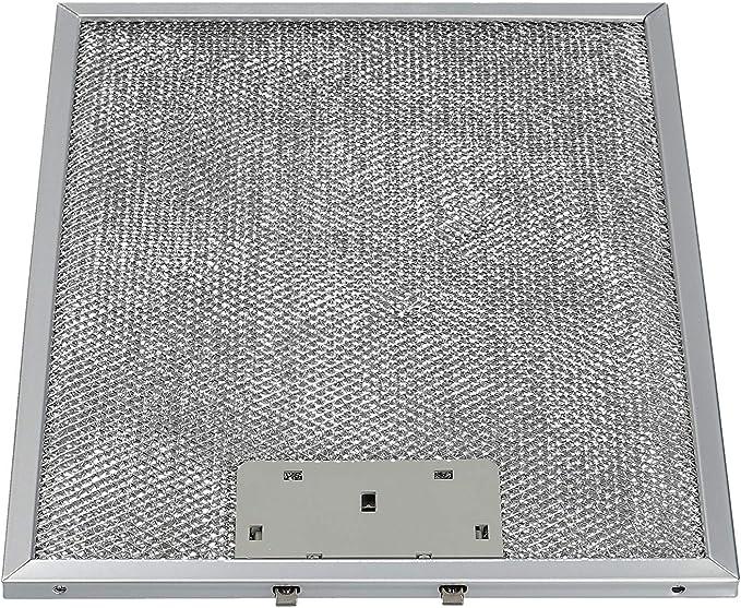 Filtro de grasa metálico Rejilla filtrante adecuada para AEG Electrolux 4055101671 utilizada en campanas de cocina: Amazon.es: Grandes electrodomésticos