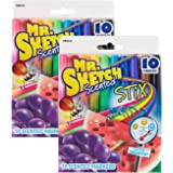 Sanford Mr. Sketch scented Stix Watercolor Markers, assorted colors 2 packs of 10