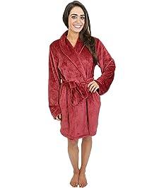 97221e04a9 Cherokee Womens Women s Plush Robe Bathrobe