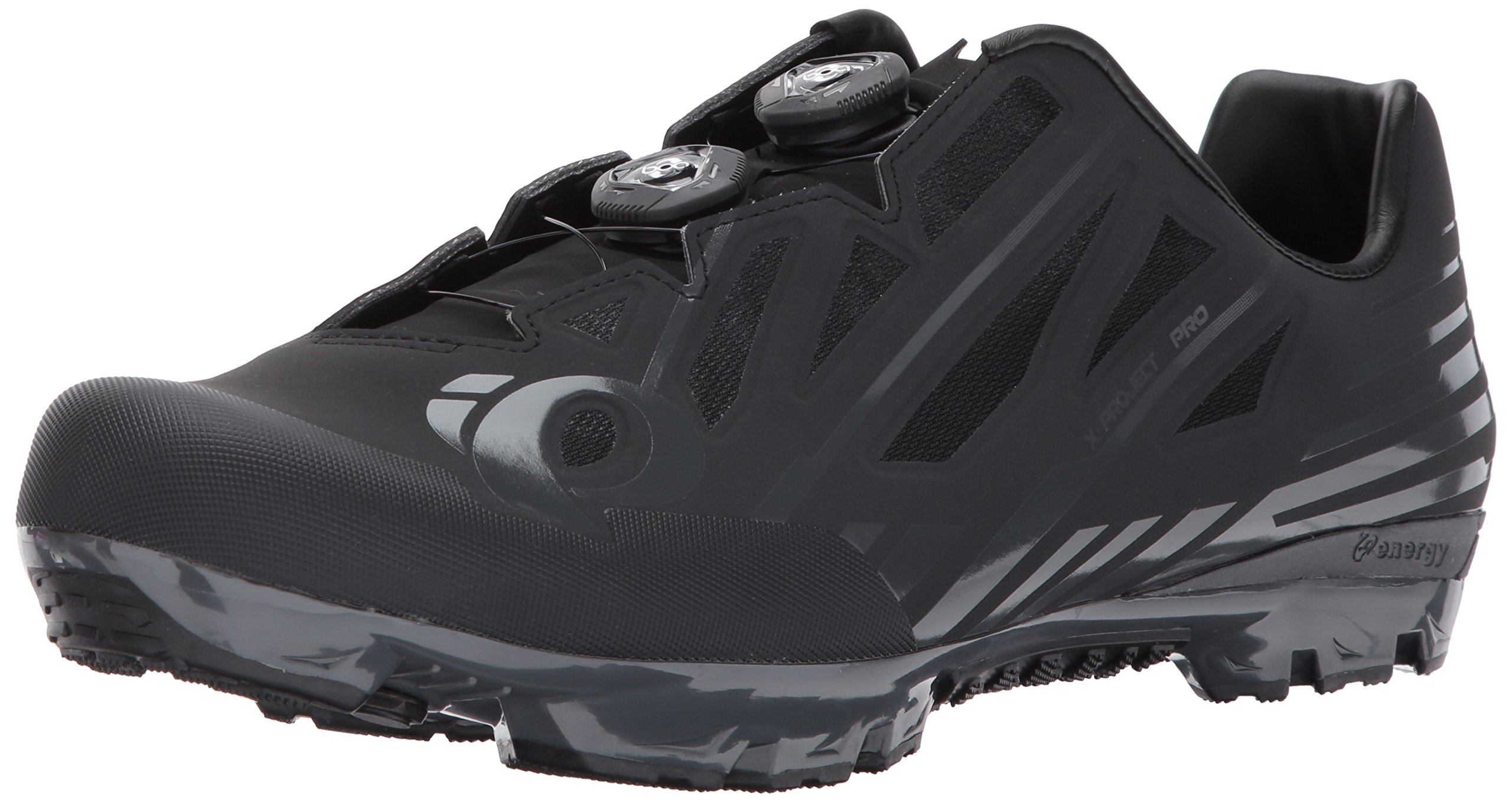 Pearl Izumi X-Project Pro Cycling-Footwear, Black/Shadow Grey, 46.5 EU/12 D US