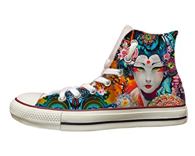 Stefano Natussi Converse all Star con Stampa Japanese