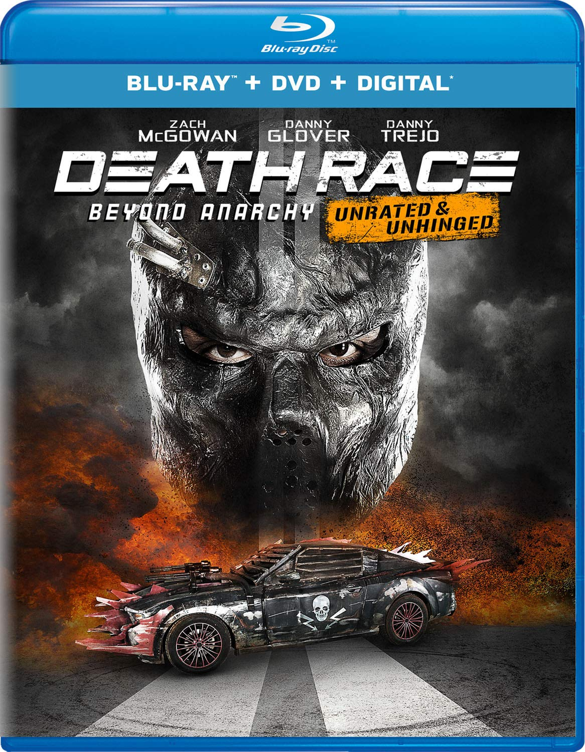 Blu-ray : Death Race: Beyond Anarchy (With DVD, 2 Pack, Digital Copy, 2PC)