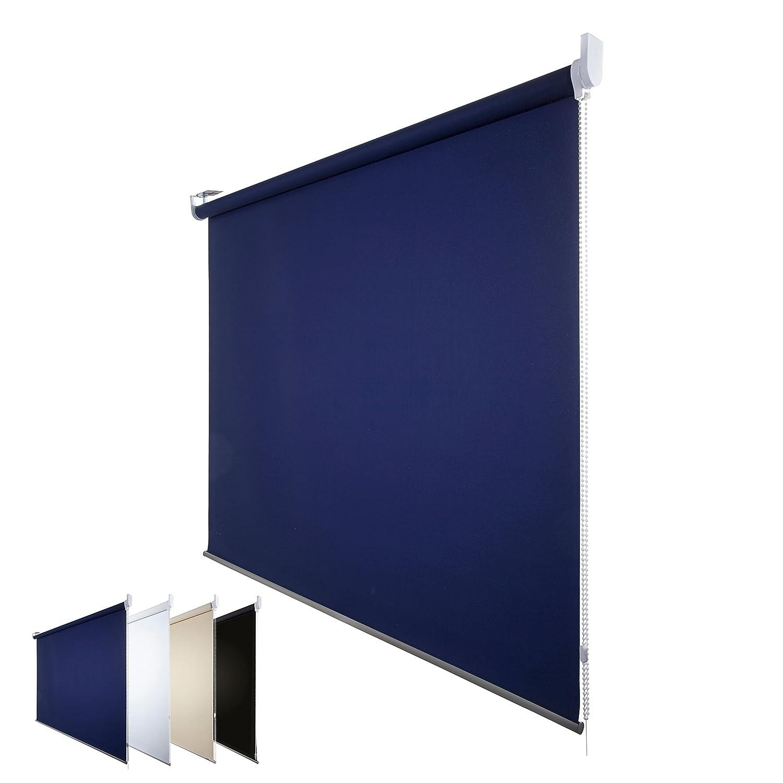 Fensterdecor Fertig Verdunkelungsrollo Blau 180 x 180 180 180 cm (BxH) B00BW1KZYC Seitenzug- & Springrollos de5c00