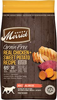product image for Merrick Grain Free Dry Dog Food Real Venison & Sweet Potato Recipe