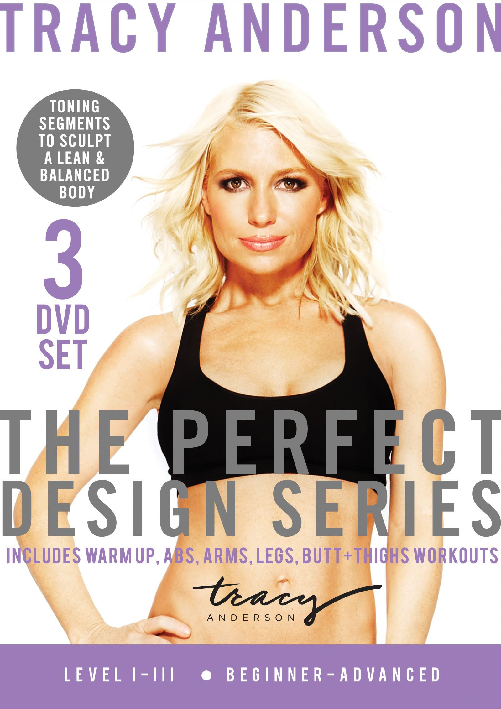 DVD : Tracy Anderson - Perfect Design Series: Sequence 1-3 (3 Pack, 3 Disc)