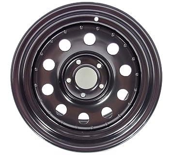 Negro Acero 16 X 8 Modular rueda (grw012) para el LAND ROVER DISCOVERY 2 y Range Rover P38: Amazon.es: Coche y moto