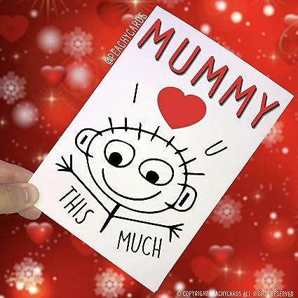 Tarjeta de felicitación para mamá, tarjeta de cumpleaños ...