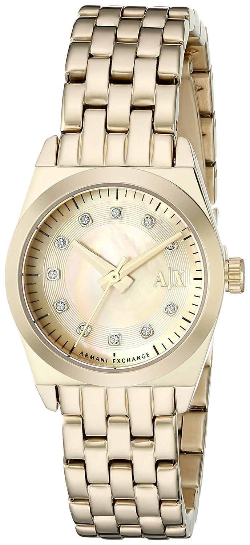 Amazon.com: Armani Exchange Womens AX5331 Gold Watch: Watches