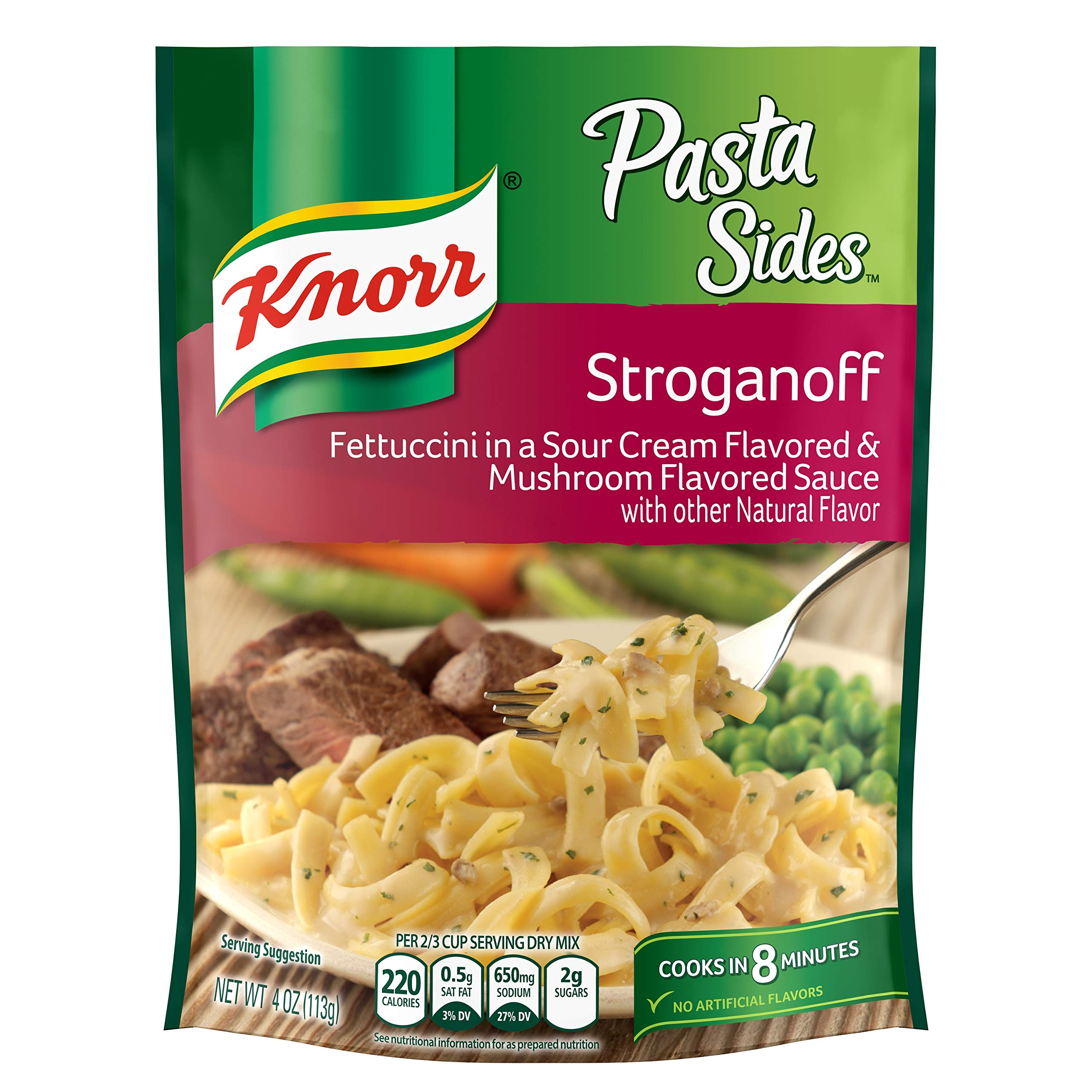 Amazon Com Knorr Pasta Sides 4 4oz Pouch Pack Of 6