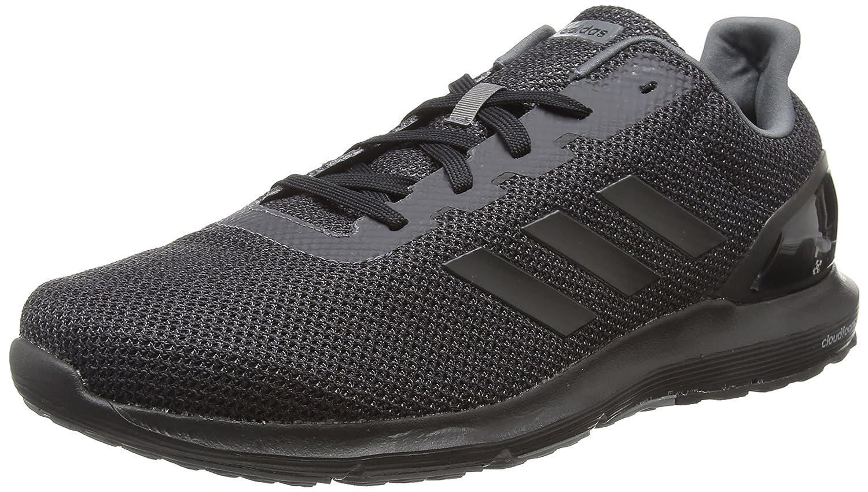 Adidas Cosmic 2, Zapatillas de Running para Hombre 41 1/3 EU|Negro (Core Black/Core Black/Grey 0)
