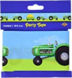 Tractor Party Tape Party Accessory (1 count) (1/Pkg)