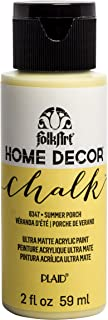 product image for FolkArt Home Décor Chalk Furniture & Craft Paint in Assorted Colors, 2oz, Summer Porch