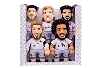 a2695c6b66c5c Bleacher Creatures Europe Pack-5 Real Madrid Peluches 25cm  Amazon.es   Juguetes y juegos