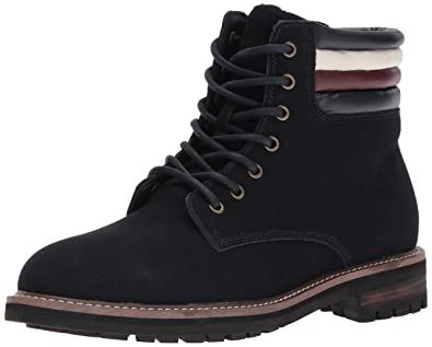 cd897732e7a7 Amazon.com  Tommy Hilfiger Men s Halle Combat Boot  Shoes