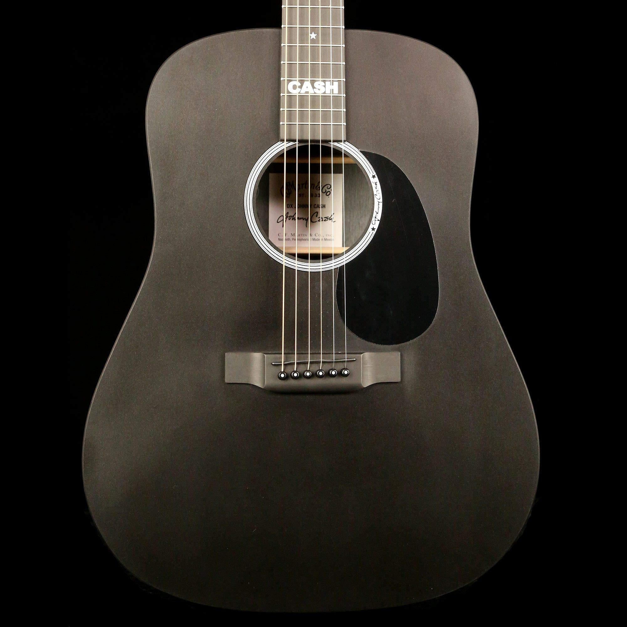 Martin DX Johnny Cash Acoustic-Electric Guitar by Martin
