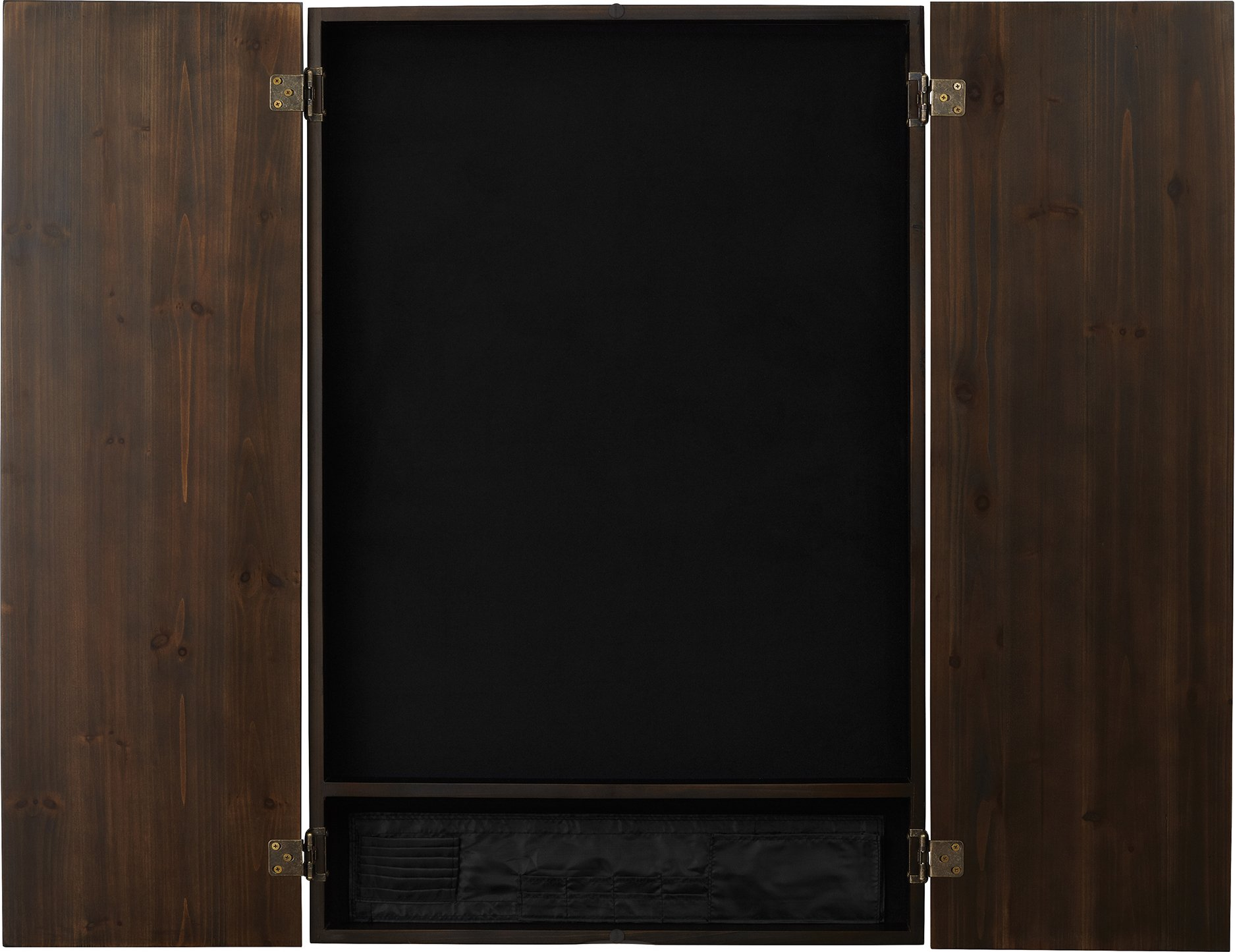 Viper Metropolitan Solid Wood Electronic Soft Tip Dartboard Cabinet: Cabinet Only (No Dartboard), Espresso Finish