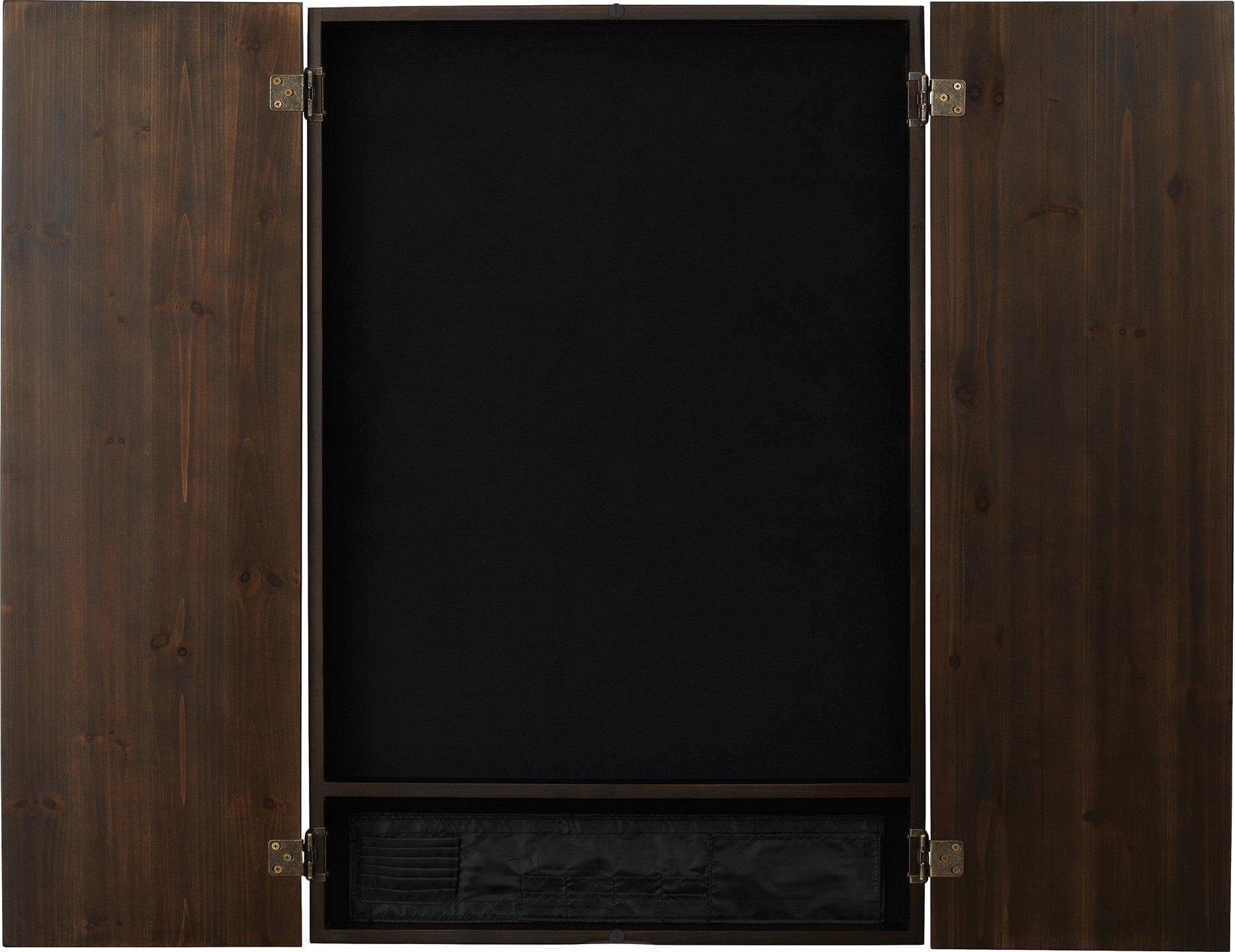 Viper Metropolitan Electronic Soft Tip Dartboard Cabinet: Cabinet Only (No Dartboard), Espresso Finish