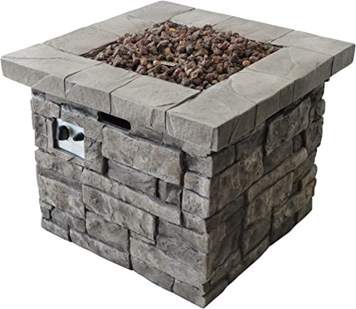 Christopher Knight Home Angeles Outdoor Square Fire Pit