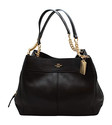 15d3935385 Coach Lexy Shoulder Bag in Outline Signature 2018 Collection Style F57612