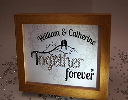 Amazon.com: Together Forever, Sparkle Word Art Pictures ...