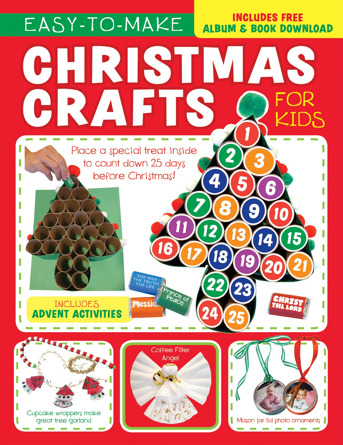 easy to make christmas crafts for kids im learning the bible activity book twin sisters kim mitzo thompson karen mitzo hilderbrand 9781634098038