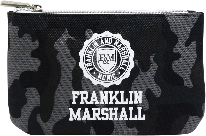 Franklin Marshall Make Up Bag con El Power Bank Bolsos Neceser Vanity Pochettes Negro: Amazon.es: Equipaje