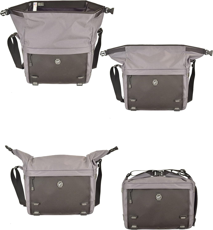 Visiotrek VS-Gry Pixel 18 Camera and Video Recorder Shoulder Bag Grey