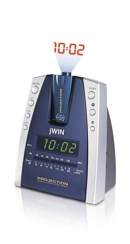 Amazon.com: jWIN jl707 Proyección Radio reloj despertador ...