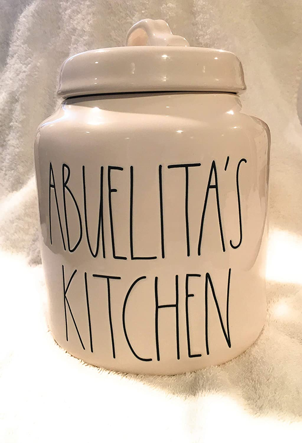 Buy Rae Dunn By Magenta Abuelita S Kitchen Ceramic Ll Canister Limited Edition Spanish Collection Online At Low Prices In India Amazon In