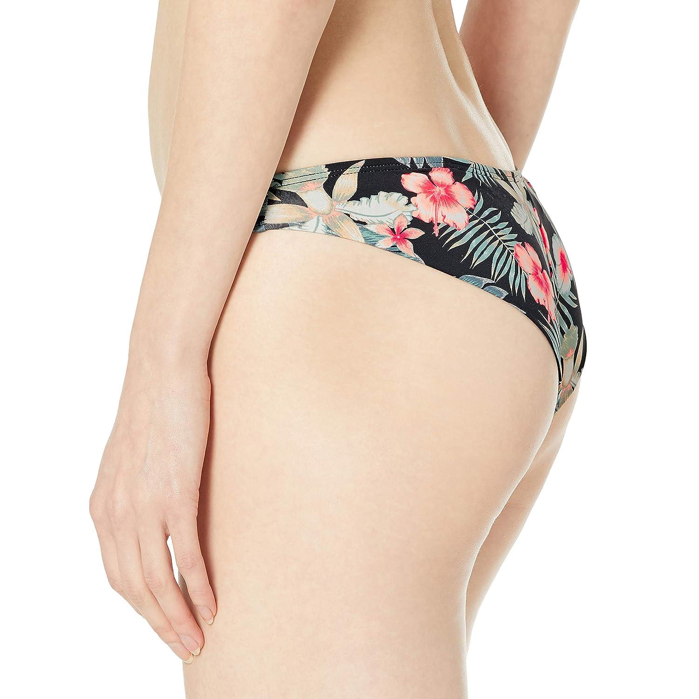 Roxy Womens Printed Beach Classics Mini Swimsuit Bikini Bottom