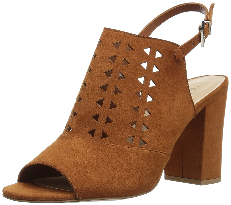 Athena Alexander Women's Nadiah Platform Dress Sandal B06XT59DSG 11 UK/11 M US|Cognac Suede