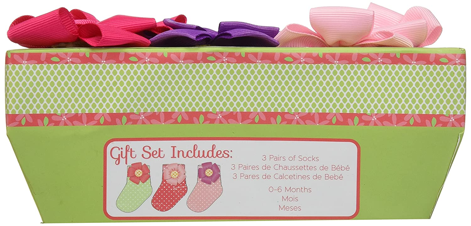 Amazon.com : Baby Aspen, Baby in Bloom 3 Pair of Socks Gift Set, 0-6 Months : Baby