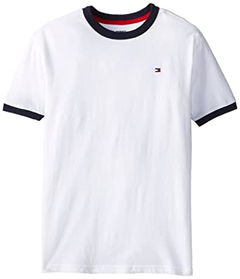 55428b2ff106f6 Tommy Hilfiger Boys  Core Crew-Neck Ken T-Shirt  Amazon.com.au  Fashion