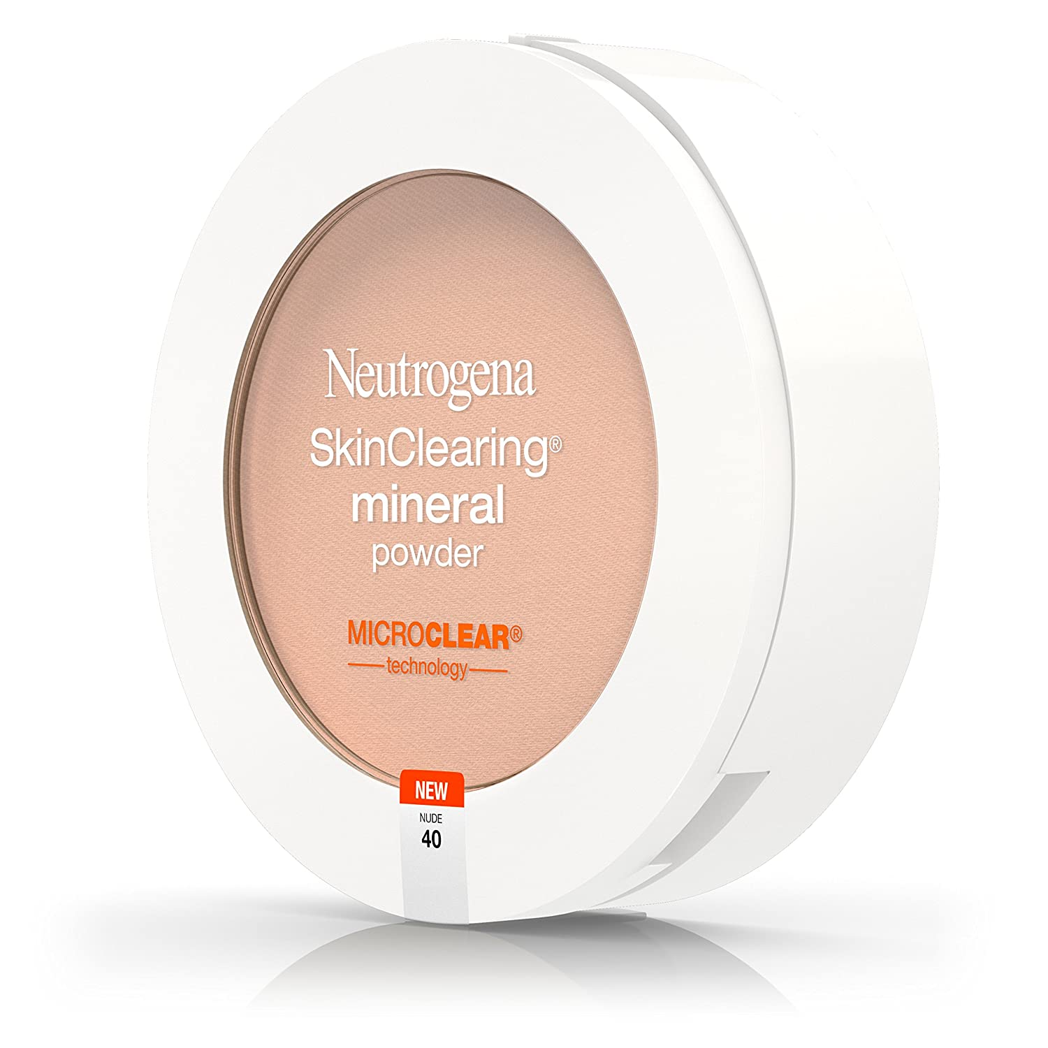 Amazon.com : Neutrogena Skinclearing Mineral Powder, Nude 40, .38 Oz. (Pack of 2) : Beauty