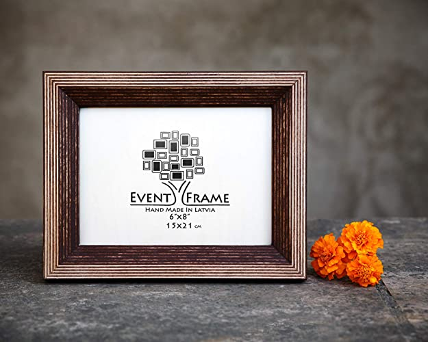 Amazon Brown Picture Frame Wood Photo Frame Rustic Frames