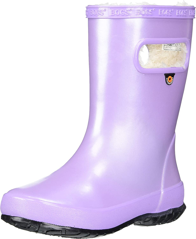 BOGS Unisex-Child Skipper Direct Great interest stock discount Rain Boot Rainboot