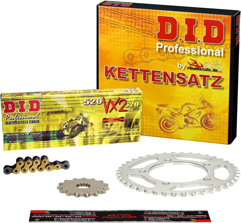Kettensatz Yamaha YFM 700 RSP Raptor Special Edition AM07W VX2 gold 2008-2013 DID X-Ring
