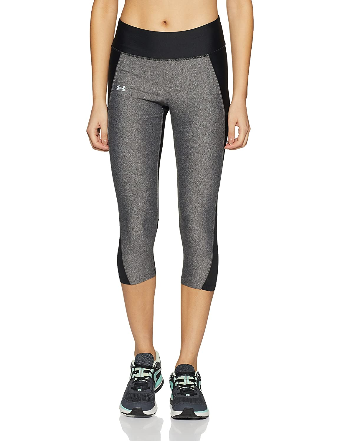 Under Armour Fly By Capri, Pantaloni Sportivi Donna 1297933-009
