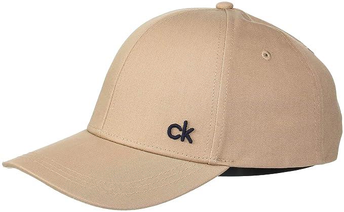 Calvin Klein CK Baseball Cap M, Gorra de béisbol para Hombre, Beige (Tobacco