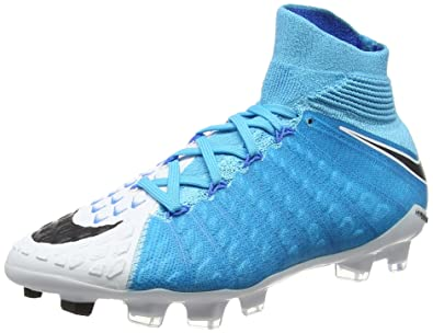 hot sale online b5d0c e9fcb Nike Jr Hypervenom Phantom 3 DF FG (Blue/White)