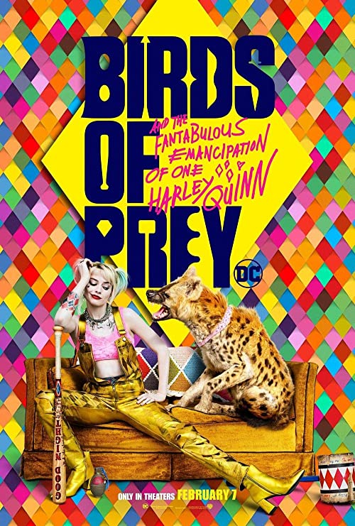 Image result for harley quinn birds of prey poster