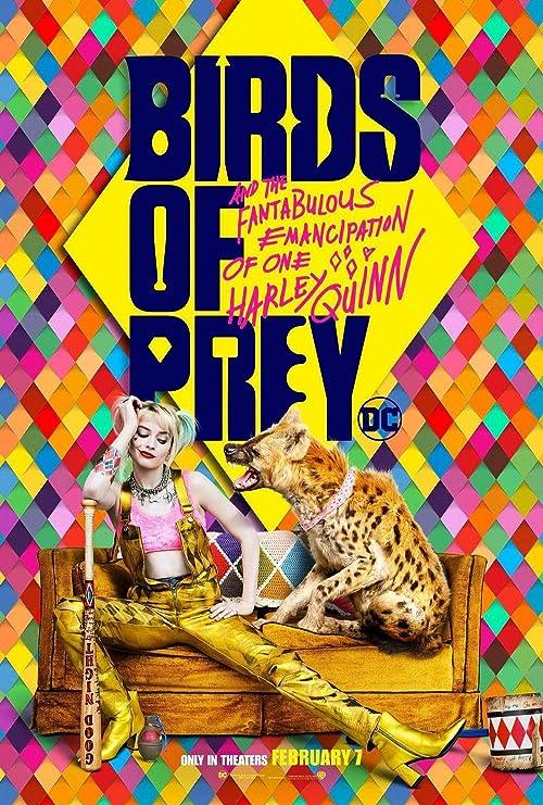 Image result for harley quinn birds of prey poster