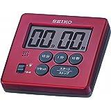セイコー クロック タイマー 赤 メタリック MT717R SEIKO