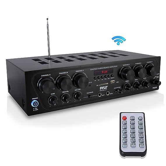 Amazon.com: Sistema de amplificador de audio para el hogar ...