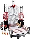 WWE RUMBLERS RAMPAGE TRANSFORMING TOUR BUS RING