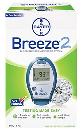 amazon com bayer s breeze2 blood glucose monitoring system health rh amazon com bayer breeze 2 instruction manual bayer breeze 2 instruction manual